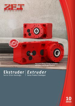 ZET Gearboxes - Extruder Gearboxes Product Catalogue