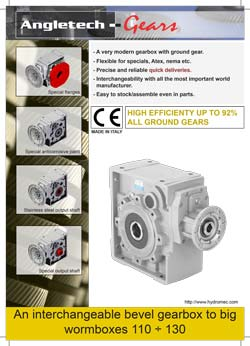 Hydromec Cast Iron Helical Bevel Gearboxes Brochure
