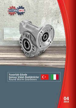 Round worm gearboxes catalogue