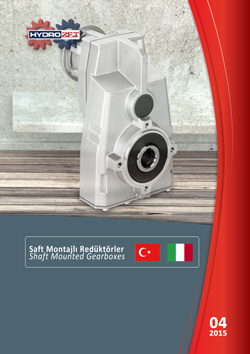 Hydromec Aluminum Shaft Mounted Gearboxes Product Catalogue