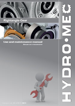 Hydromec round worm gearboxes operating manual