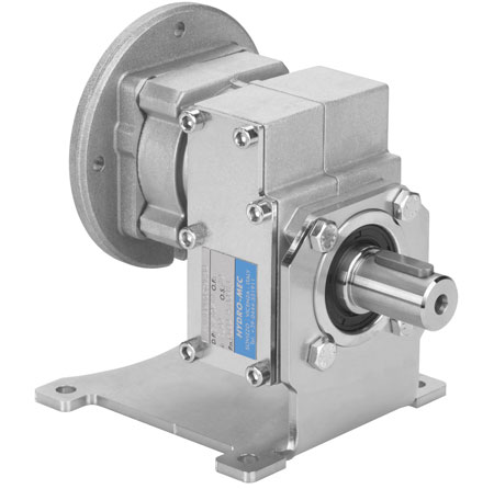Hydro-mec aluminum coaxial gearboxes