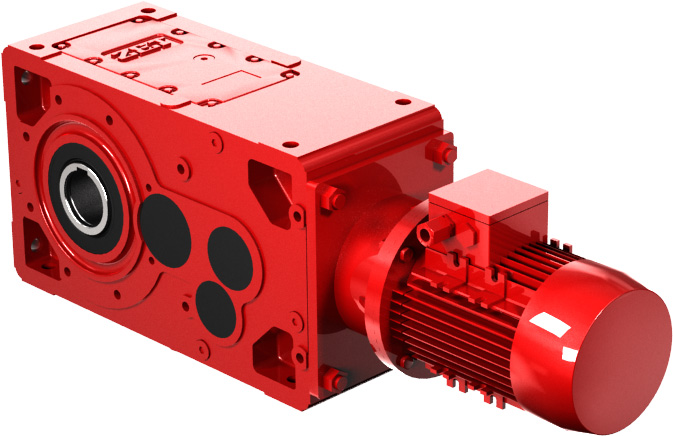 MonoBlock Helical Bevel Gearboxes